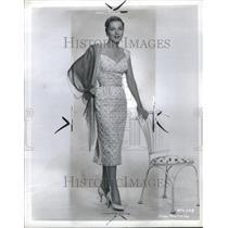 1956 Press Photo Joan Fontaine Actress Olivia de - RRR98183