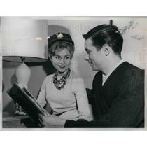 1962 Press Photo Jim Fregosi, Janet Fregosi, Los Angeles Angels