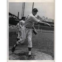 1938 Press Photo Peaches Davis of Cincinnati Reds