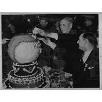 1937 Press Photo Minor League Baseball Executives Meet In Milwaukee