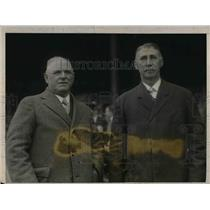 1925 Press Photo Billie Hamilton of Boston, Pat Murphy of Giants, Famous Players