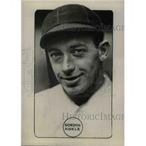 1934 Press Photo Boston Red Sox catcher, Gordon Hinkle - nea06648