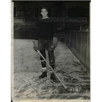 1929 Press Photo W. T. McAlpin, Princeton Hockey Team - nea06621