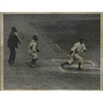 1935 Press Photo George Belkirk the Yankees