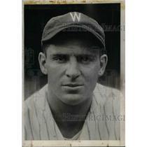 1932 Press Photo Ben Chapman, left fielder for New York Yankees