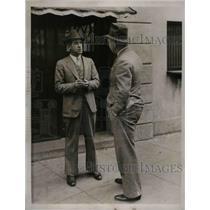 1934 Press Photo Bucky Harris, Boston Red Sox Manager, Former Senators Manager