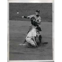 1944 Press Photo George Stirweiss George Wyatt Yankees