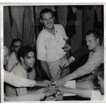 1938 Press Photo Joe(Ducky Wucky) Medwick & other St Louis Cardinals
