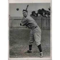 1933 Press Photo Boston Red Sox, Marty McManus