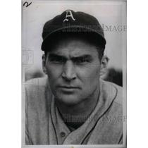 1936 Press Photo Jim D. Oglesby, Rookie Infielder
