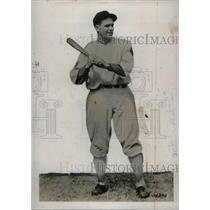 1934 Press Photo Luke Sewell Washington