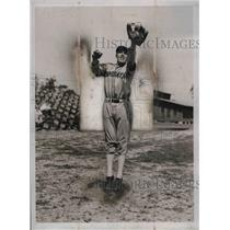 1936 Press Photo Brooklyn Dodger infielder Linus R. Frey