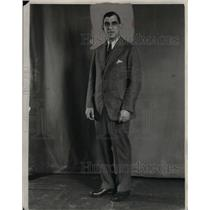 1928 Press Photo Roger Peckinpaugh, Shortstop of Washington Senators.