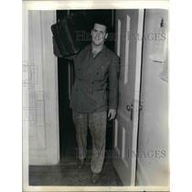 """1941 Press Photo Murray """"Muzz"""" Patrick of NY Rangers hockey - nea06584"""