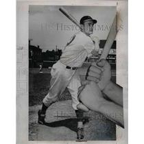 1939 Press Photo Frank McCormick, First baseman of Cincinnati Reds.