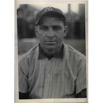 1934 Press Photo Ben Chapman, Outfielder
