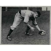 1934 Press Photo Chicago Cubs, outfielder, George Stainback - nea05930