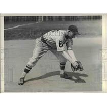 1934 Press Photo James W. Jordan, infielder, at Spring Training Camp - nea06477