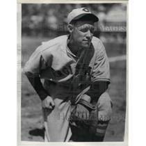 1936 Press Photo Cincinnati Reds Player Lee Stine