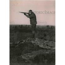 1921 Press Photo George Burns, 1st Baseman - nea05087