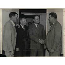 1932 Press Photo New York Giants Manager John J. McGraw,Bob O'Farrell,Al Terry