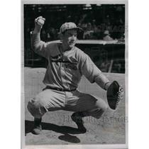 1938 Press Photo Stanley Frenchy Bordagaray Outfielder St Louis Cardinals MLB
