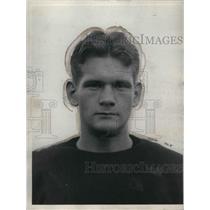 1928 Press Photo U of Chicago football back, Hugh Mendenhall - nea12598