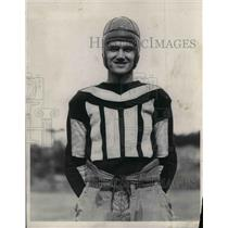 1928 Press Photo Tommy Morton Reserve Football Captain - nea08943
