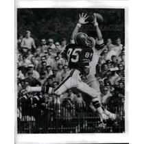 1969 Press Photo Packer Doug Hart vs Atlanta's Paul Flatley - nea07908