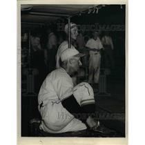 1935 Press Photo Chuck Dressen, Manager of Cincinnati Reds - nea09897
