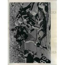 1956 Press Photo San Francisco 49ers Rick Casares