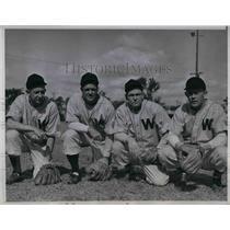 1946 Press Photo Ted Maduesk, Danny Reagan, Jake Early, Alfred Evans, Washington