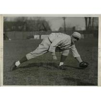 1930 Press Photo NY U baseball, Jimmie Berger - nea08983