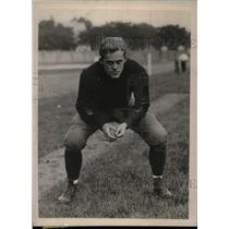 1924 Press Photo Minnesota University Quarterback Joe Graham On Field