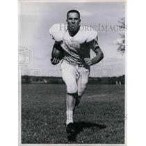 1958 Press Photo Cleveland Browns Football Player Jim Shofner