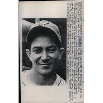 1947 Press Photo Danny Gardella, New York Giants