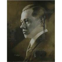 1918 Press Photo Reginald Werrensuth Baritone