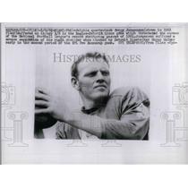 1962 Press Photo Quarterback Sonny Jurgensen