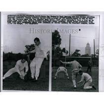 1960 Press Photo Packer's Paul Hornung, Bart Starr