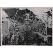 1936 Press Photo Capt. Benjamin B. Southworth William H. Gregory accident Navy
