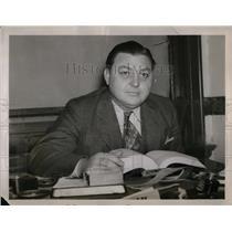 1938 Press Photo Charles Edward Earnhardt, youthful GA director of LWOC who