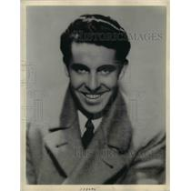 1930 Press Photo Actor Ted White for a movie role