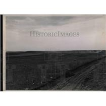 1936 Press Photo 80 Acre Lake Dried Up Crystal Spring ND - nea33375