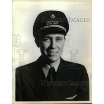 1936 Press Photo Joe Sutherland American Airlines