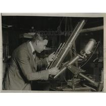 1926 Press Photo Solar Observer, study sun. - nea36617