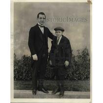 1922 Press Photo Actors Guy Bates Post And Horace A Wade