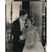 1921 Press Photo Wallace Reid Elsil Ferguston in Peter