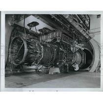 1969 Press Photo Ge4 Turbojet for the U.S. Supersonic Transport - nea35750