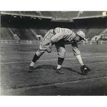 1934 Press Photo Don Kellett Short stop Boston Red Sox