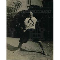 1925 Press Photo Rachel Nee Luias, Miller Cheerleader